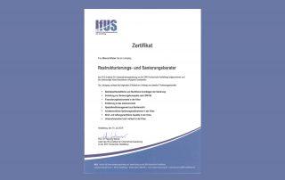 Zertifikat IFUS BiancaKrämer