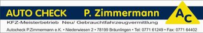 Auto Chek P. Zimmermann